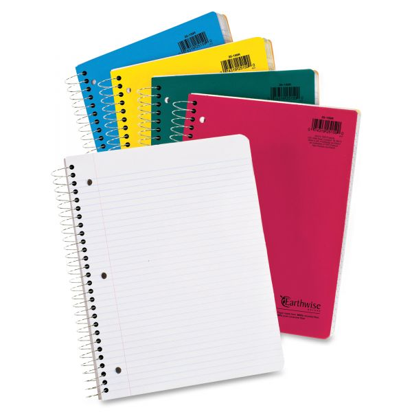 Earthwise Oxford College-ruled 5-Subject Notebook