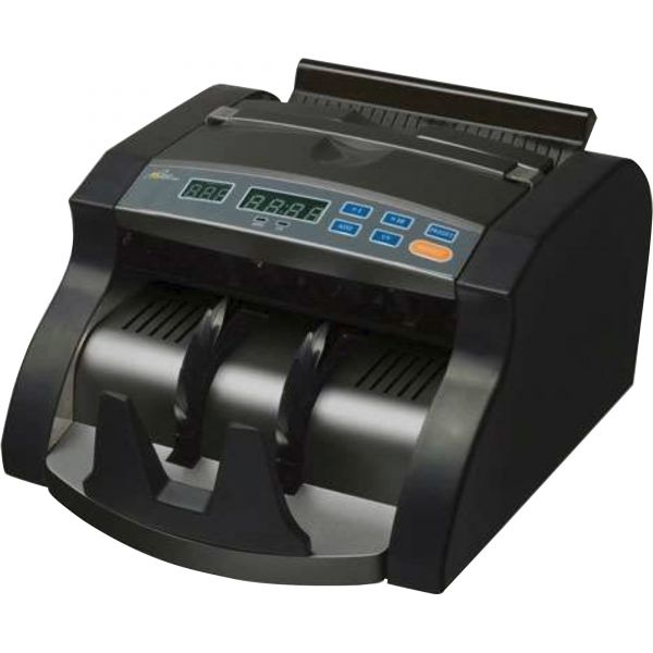 Royal Sovereign Electric Bill Counter, 1000/Bills/Min, 12 3/8 x 9 7/8 x 6 1/2, Black/Silver