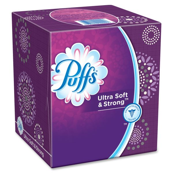 Puffs Ultra Soft & Strong 2-Ply Facial Tissue