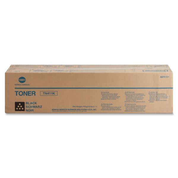 Konica Minolta TN-411K Black Toner Cartridge