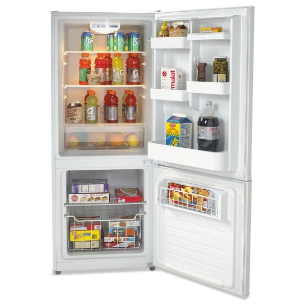 Avanti Model FFBM102D0W Bottom Mount Frost Free Freezer & Refrigerator