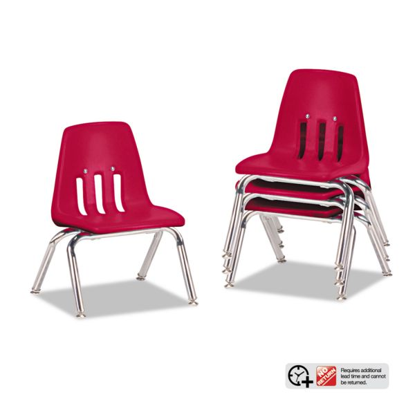 Virco 9000 Series Classroom Plastic Stacking Chairs