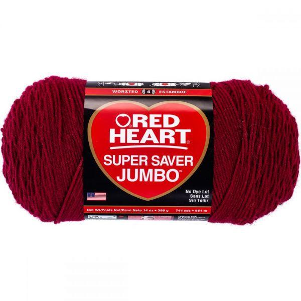 Red Heart Super Saver Yarn - Burgundy