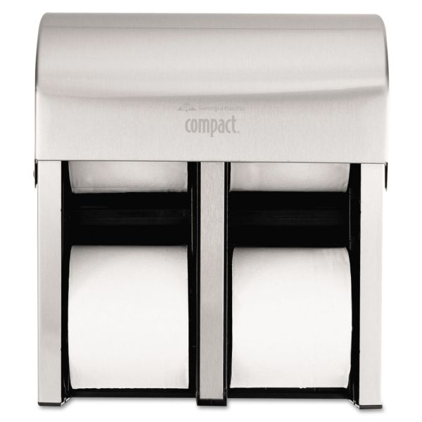 Georgia Pacific Professional Compact Quad Vertical Toilet Paper Dispenser