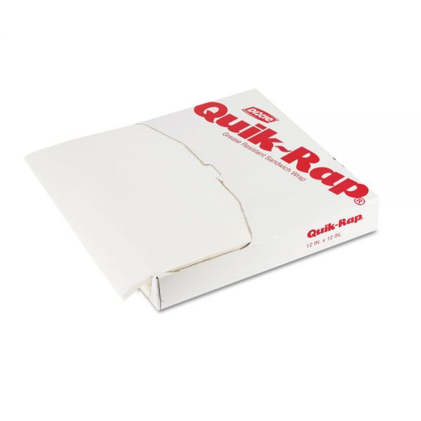 Dixie Quik-Rap Waxed Basket Liner/Sandwich Wrap Paper