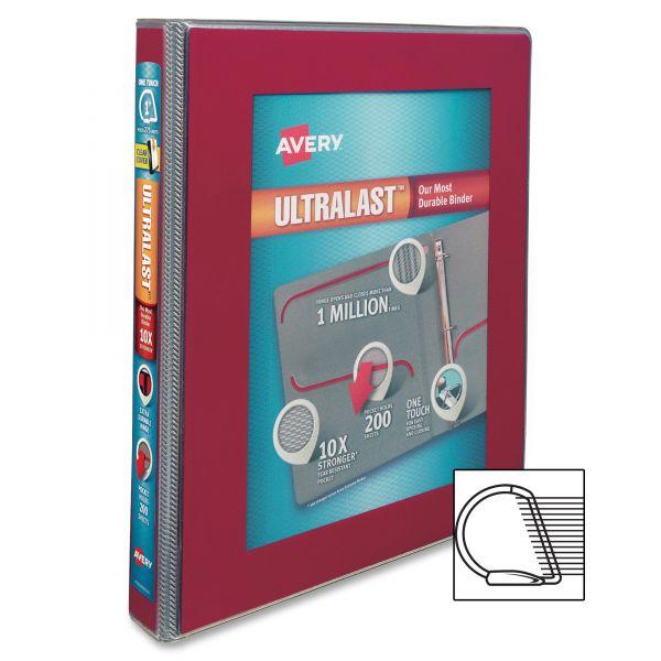 "Avery UltraLast 1"" 3-Ring View Binder"