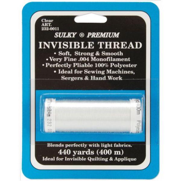 Sulky Premium Invisible Thread 440yd