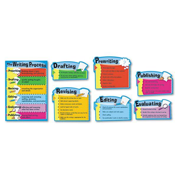 "Carson-Dellosa Publishing Writing Process Chart, 7 Pieces, 17"" x 24"""