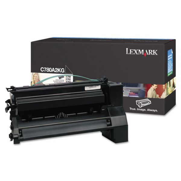 Lexmark C780A2KG Black Toner Cartridge