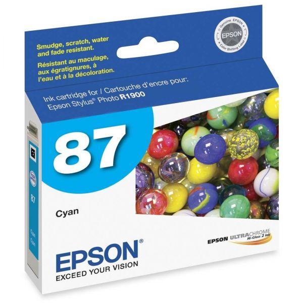 Epson 87 Cyan Ink Cartridge (T087220)
