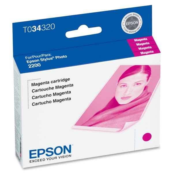 Epson T0343 Magenta Ink Cartridge