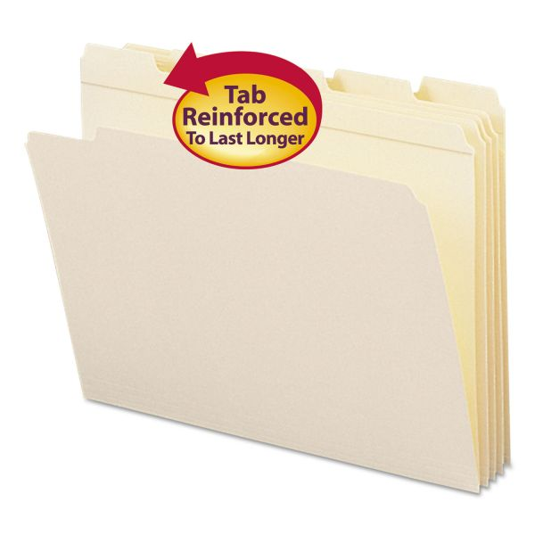 Smead Reinforced Top Tab File Folder