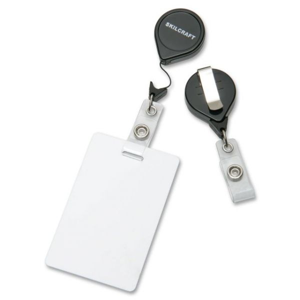 SKILCRAFT Retractable ID Card Reels