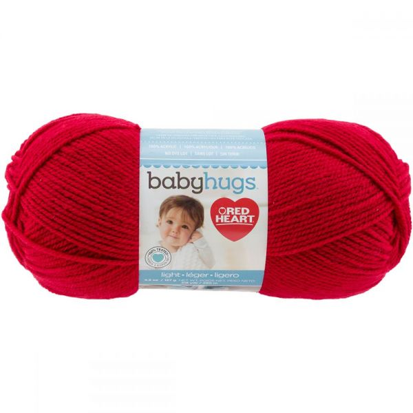 Red Heart Baby Hugs Yarn - Ladybug