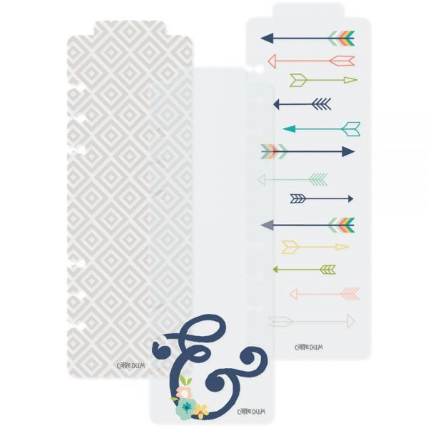 Posh Plastic Bookmarks A5 3/Pkg