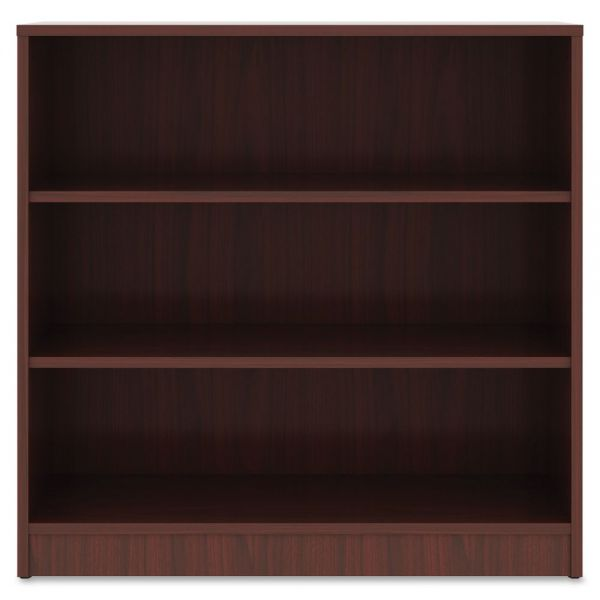 Lorell 3-Shelf Bookcase