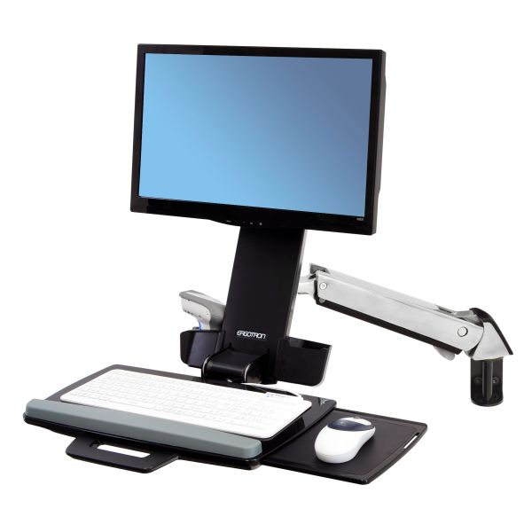 Ergotron StyleView Multi Component Mount for Notebook, Mouse, Keyboard, Monitor, Scanner