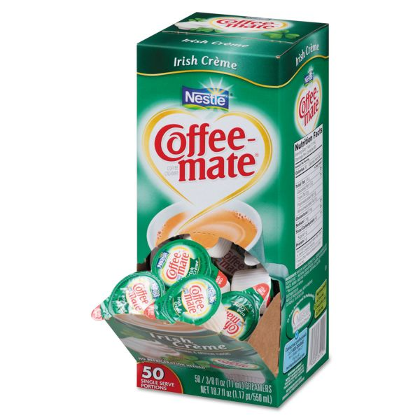 Coffee-Mate Irish Créme Liquid Coffee Creamer Cups