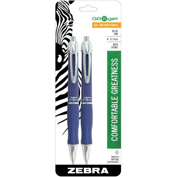 Zebra Pen GR8 Gel Pens