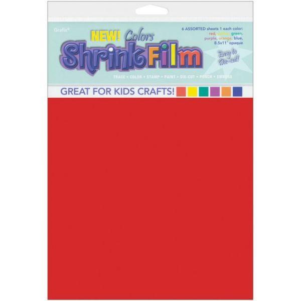 """Shrink Film 8.5""""X11"""" 6/Pkg"""