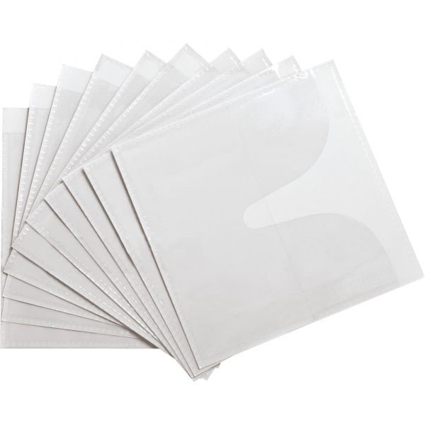Compucessory Self-Adhesive Poly CD/DVD Holders
