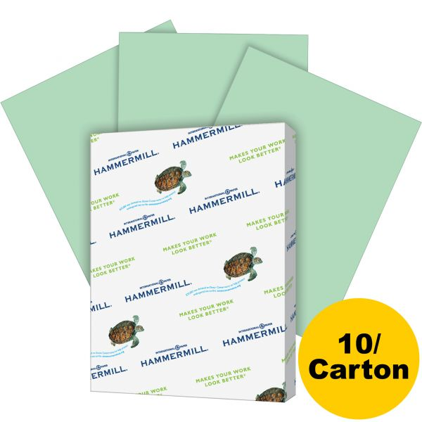 Hammermill Recycled Colored Copy Paper - Green