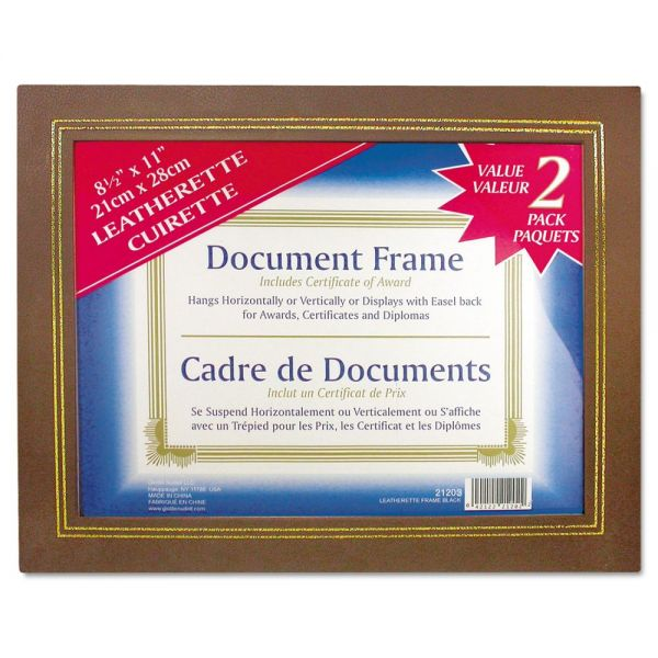 NuDell Leatherette Picture/Certificate Frame