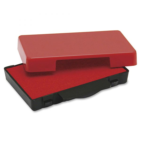 Identity Group T5470 Dater Replacement Ink Pad, 1 5/8 x 2 1/2, Red