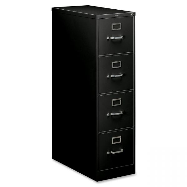 HON 210 Series 4 Drawer Locking Vertical File Cabinet