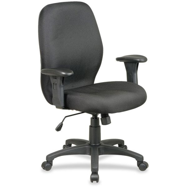 Lorell High Performance Ergonomic Task Chair With Arms