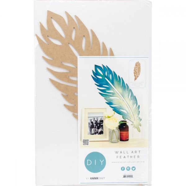Beyond The Page MDF Feather Wall Art