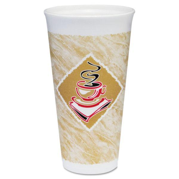 Dart 20 oz Foam Cups