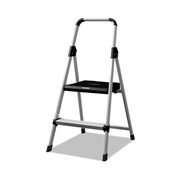 Louisville 2-Step Aluminum Step Ladder