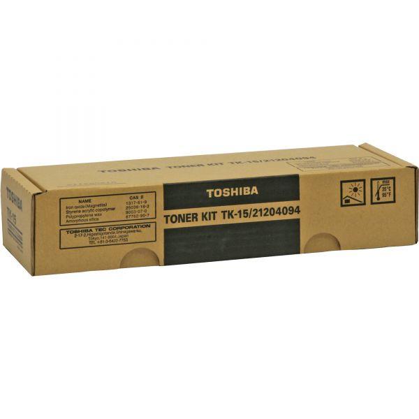 Toshiba TK-15 Black Toner Cartridge