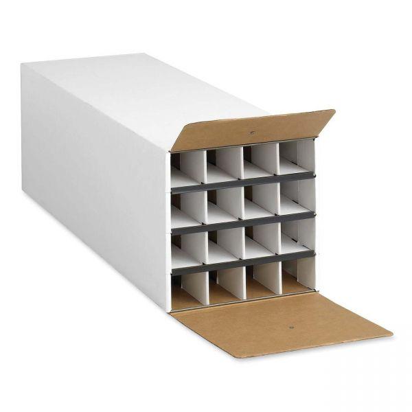 Safco Compact 16-Compartment KD Roll File