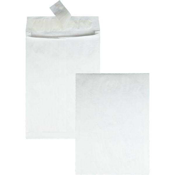 Survivor Tyvek Expansion Mailer, 10 x 13 x 1 1/2, White, 18lb, 100/Carton
