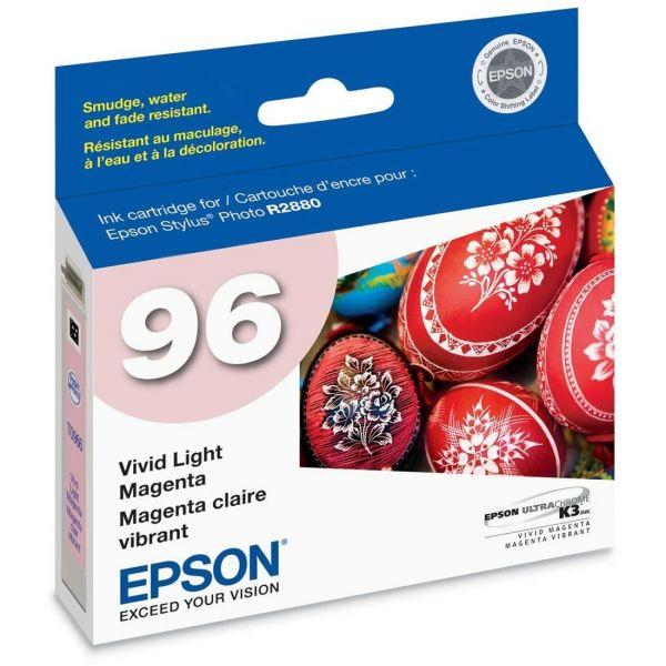 Epson T0966 Light Magenta Ink Cartridge (T096620)