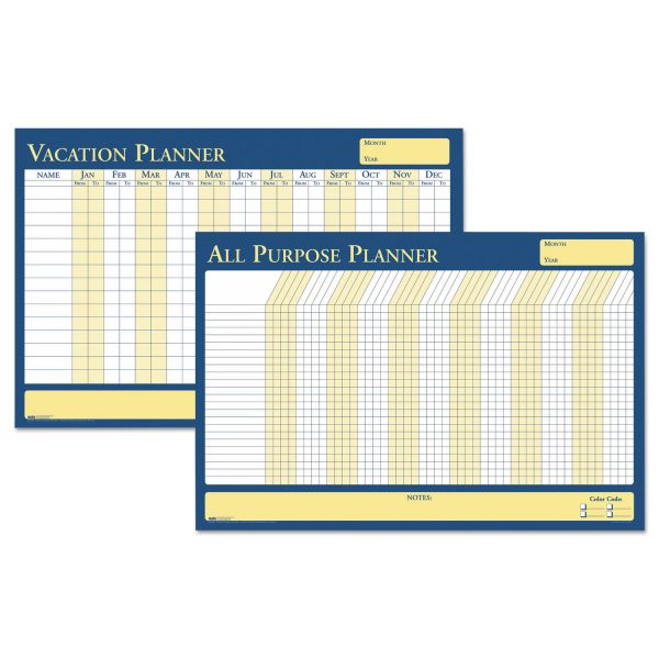 House of Doolittle All-Purpose/Vacation Plan-A-Board Planning Board