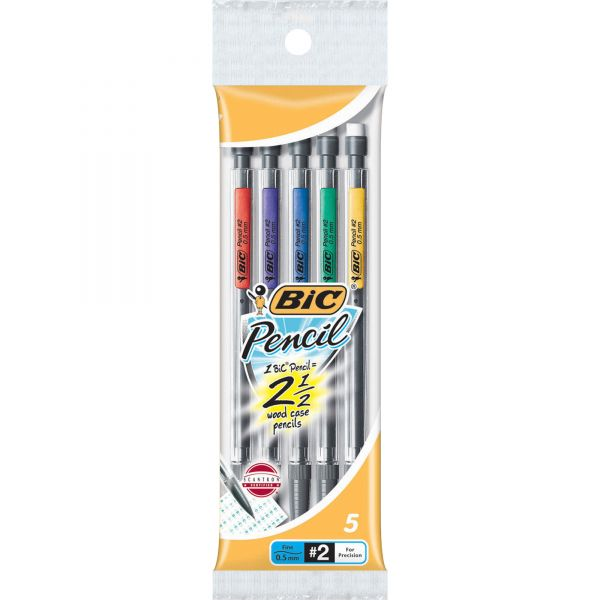BIC Grip 0.5 Mechanical Pencils