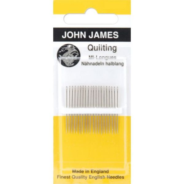 John James Quilting/Betweens Hand Needles