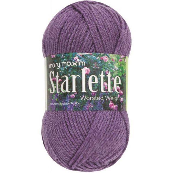 Mary Maxim Starlette Yarn - Amethyst