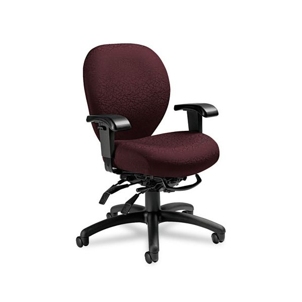 Global Mallorca Mid-Back Multi-Tilt Office Chair