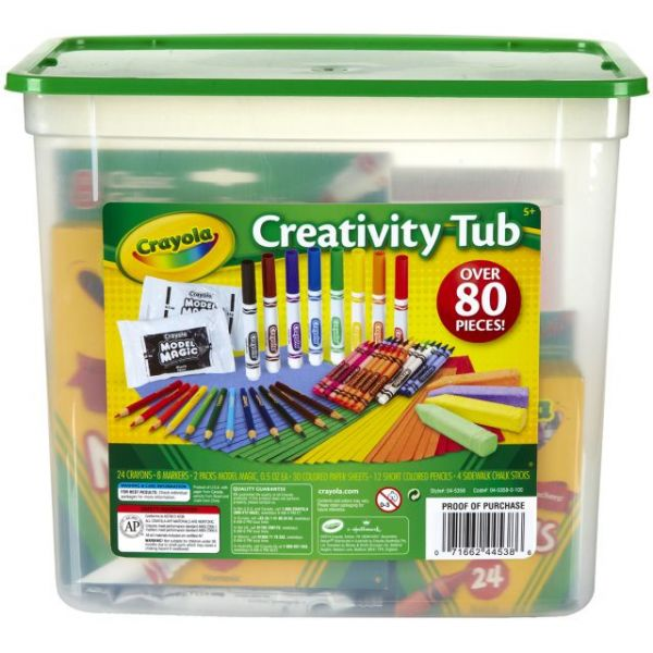 Crayola Creativity Tub