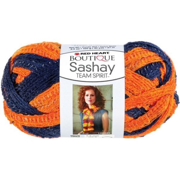 Red Heart Boutique Sashay Team Spirit Yarn