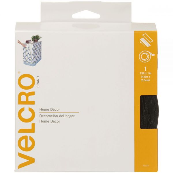 "VELCRO(R) Brand Home Decor Sew-On & Sticky Back Tape 1""X15'"