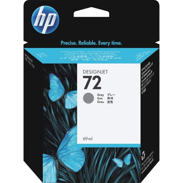 HP 72 Gray Ink Cartridge (C9401A)