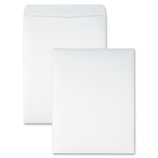 Quality Park Redi Seal Catalog Envelope, 10 x 13, White, 100/Box