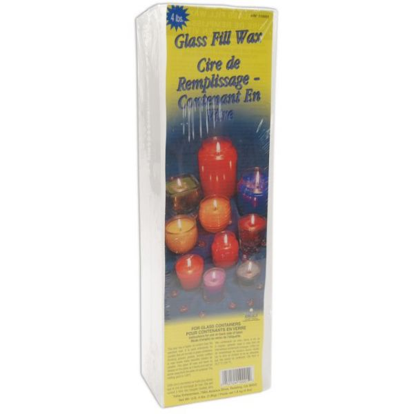 Glass Fill Candle Wax 4lb Block