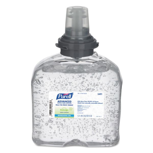 PURELL Green Certified Instant Hand Sanitizer Gel Refills