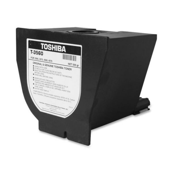 Toshiba T-3560 Black Toner Cartridge